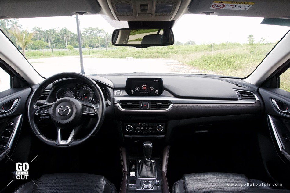 2018 Mazda 6 Sports Wagon Interior