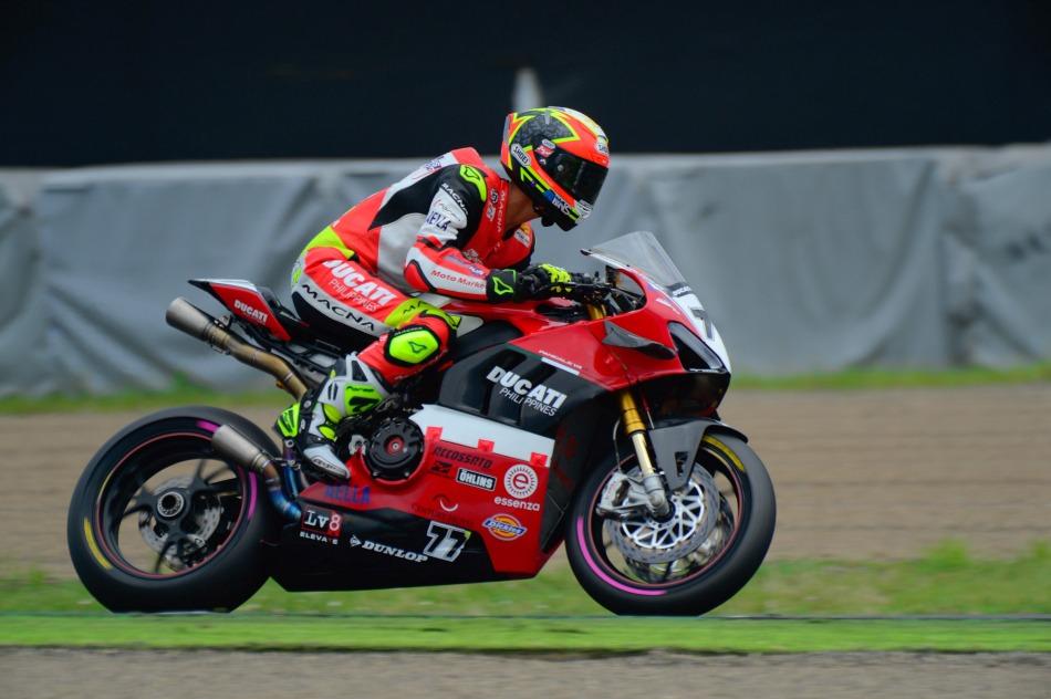 TJ Alberto, #77 Ducati