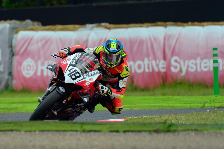 Jonathan Serrapica, #48 Ducati