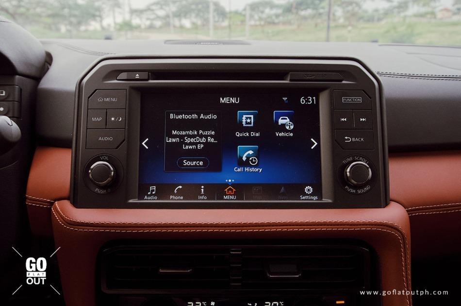 2019 Nissan GT-R Infotainment