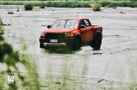 2019 Ford Ranger Raptor Sacobia River