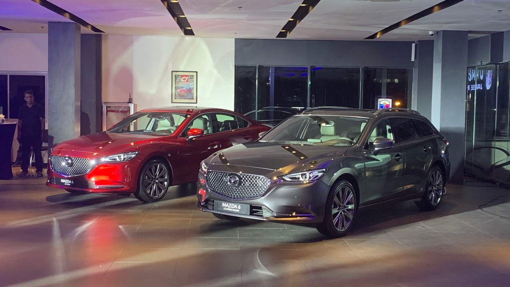 Mazda 6 Sedan Turbo And Refreshed Mazda 6 Sports Wagon Make Their PH Debut