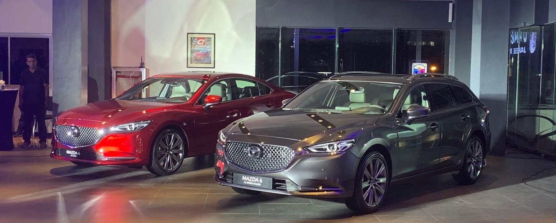 Mazda 6 Sedan Turbo And Refreshed Mazda 6 Sports Wagon Make Their PH Debut