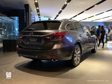 2020 Mazda 6 Sports Wagon Exterior