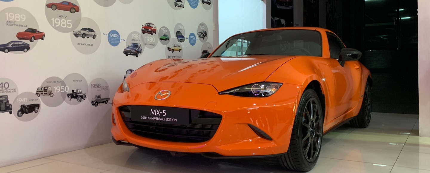 Mazda MX-5 30th Anniversary Edition Is Only Limited To 30 Units At P2.990M Each
