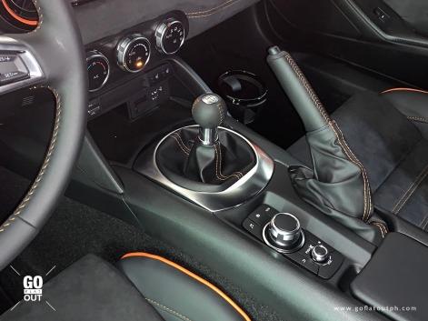 Mazda MX-5 RF 30th Anniversary Edition Interior