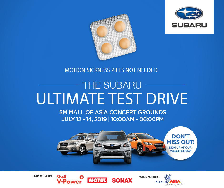 The Subaru Ultimate Test Drive Series Is Now At Its Second Year