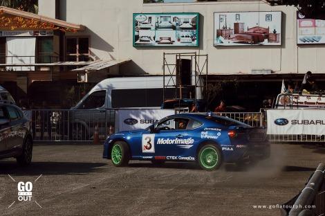 Why Did Russ Swift Choose To Represent Subaru?