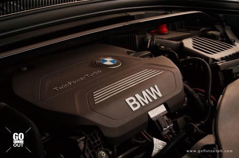 2019 BMW X1 xDrive20d xLine Engine