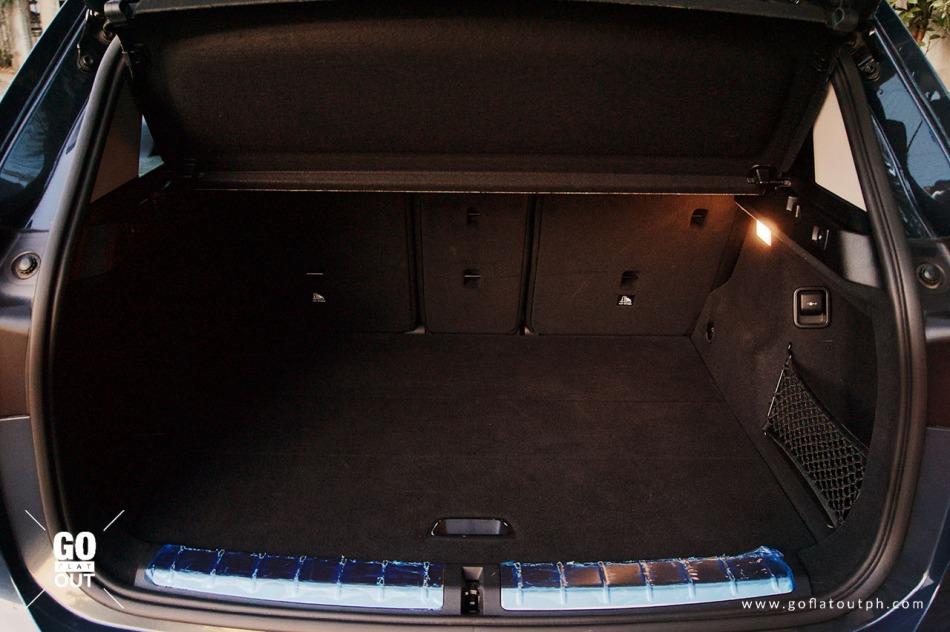 2019 BMW X1 Trunk Space