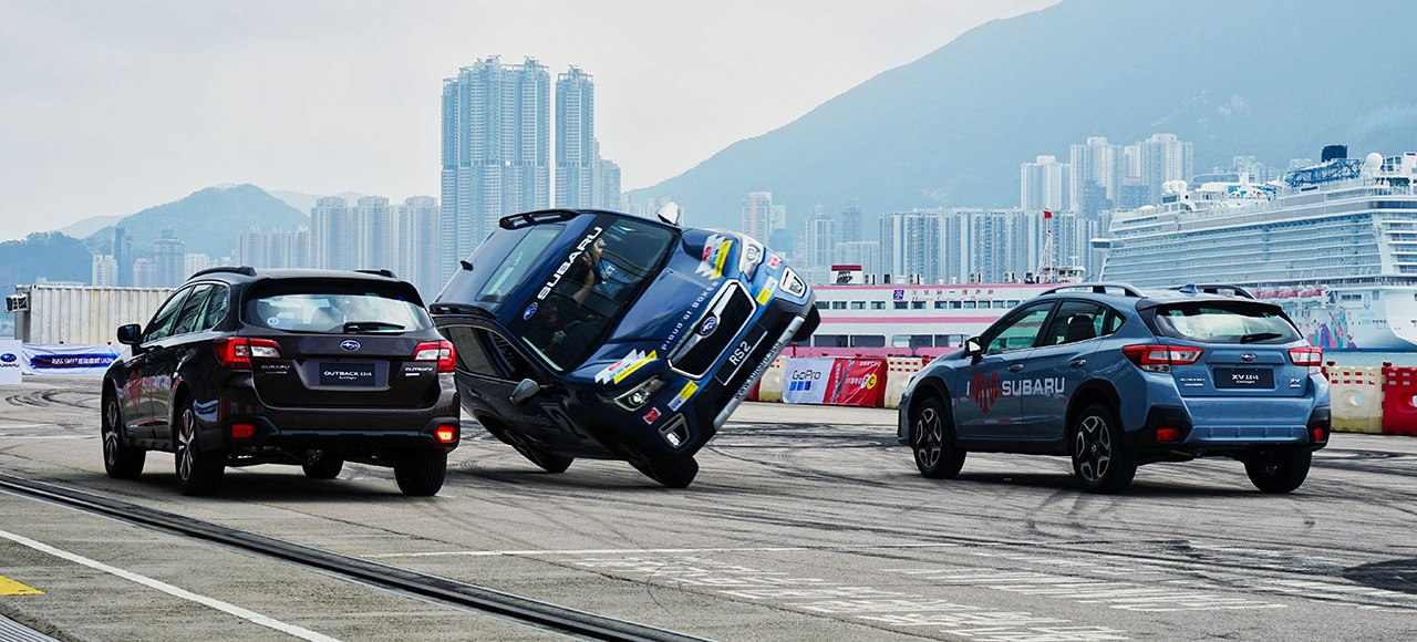 Witness Russ Swift's Famous Stunts At The 2019 Subaru Ultimate Test Drive Davao And Cebu