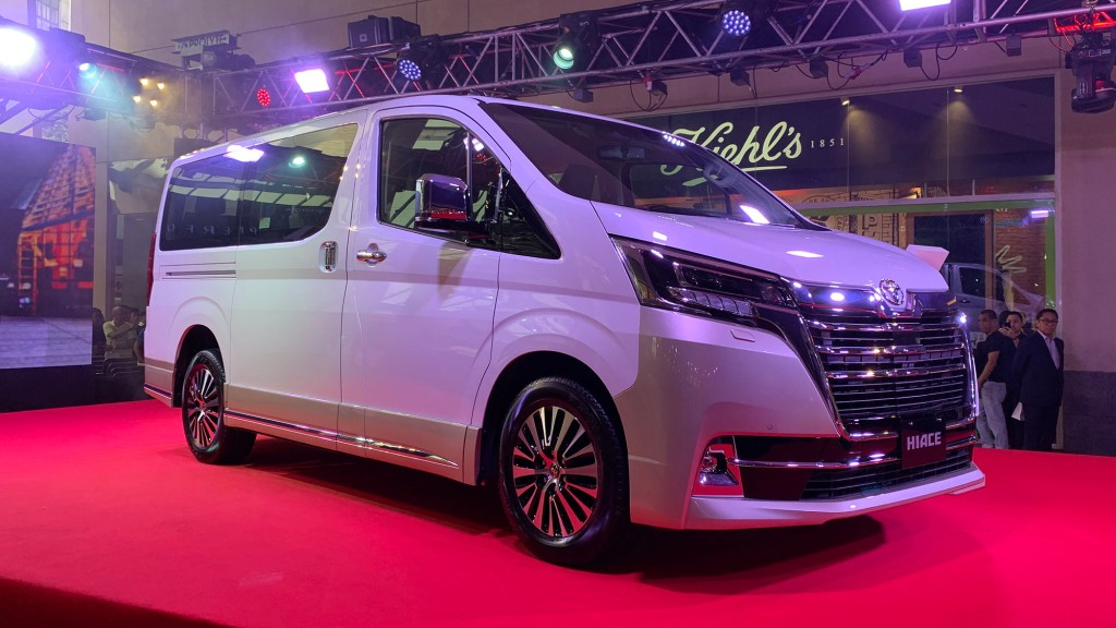 Toyota Safety Sense Makes Its PH Debut In The Hiace Super Grandia Elite