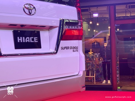 2020 Toyota Hiace Super Grandia Elite Exterior