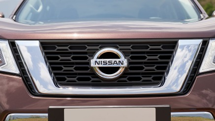 2019 Nissan Terra New Black Grille