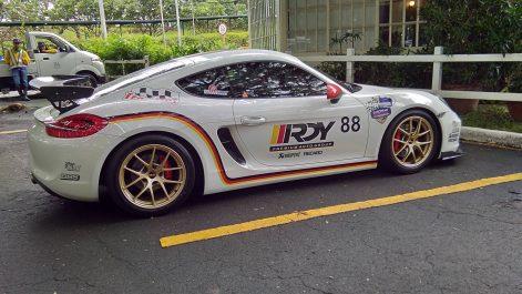 Porsche Cayman S (981) Akrapovic Exhaust