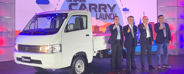 Suzuki PH Launches All-New Carry, New DZire GA To Help Your Business