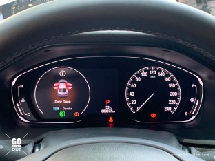 2020 Honda Accord EL Turbo CVT Honda Sensing Digital Gauge Cluster