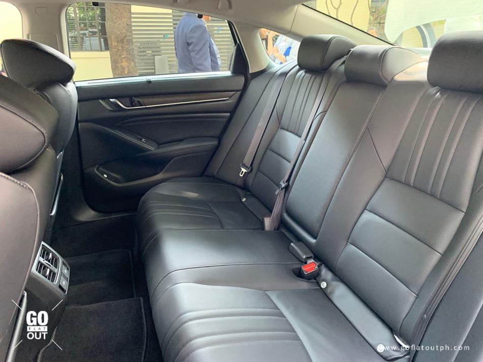2020 Honda Accord EL Turbo CVT Honda Sensing Rear Seats