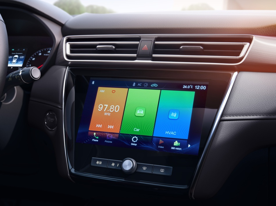 2020 MG 5 Infotainment System