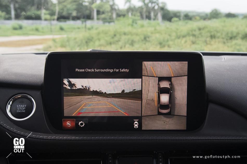 2020 Mazda 6 Sedan 2.2 Diesel 360-degree camera