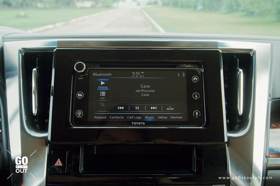 2019 Toyota Alphard 3.5 V6 Infotainment
