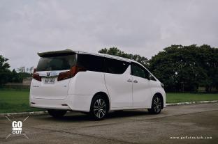 2019 Toyota Alphard 3.5 V6 Exterior