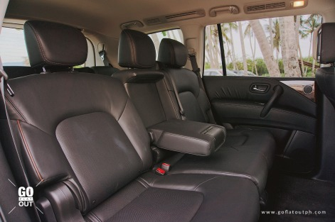2019 Nissan Patrol Royale Rear Seats