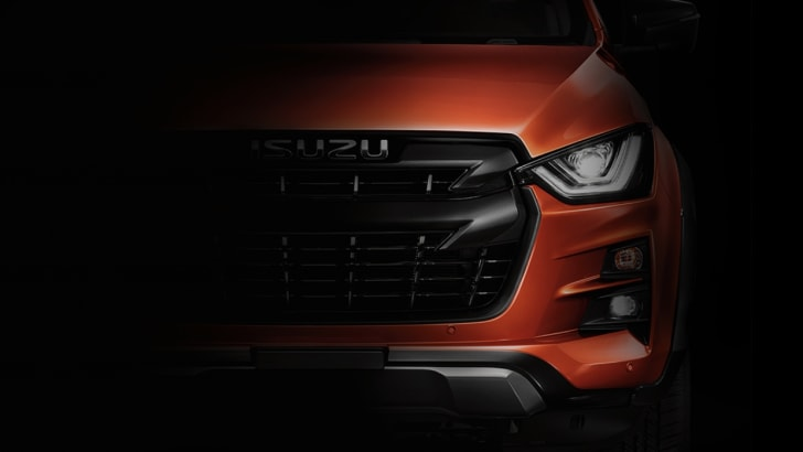 All-New Isuzu D-Max Shows Its Face Ahead Of October 11 Debut