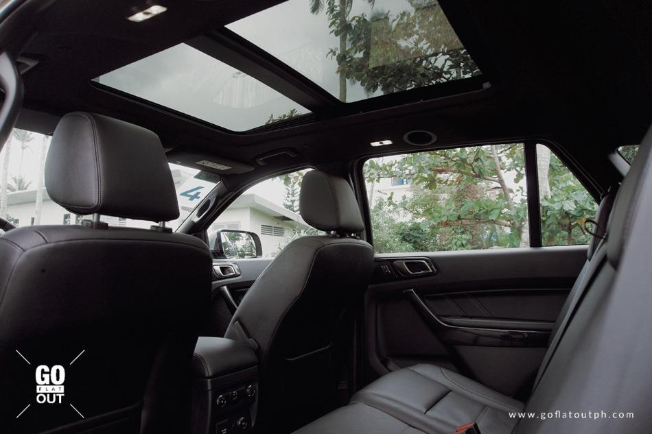 2020 Ford Everest Titanium 4x4 Bi-Turbo Panoramic Sunroof