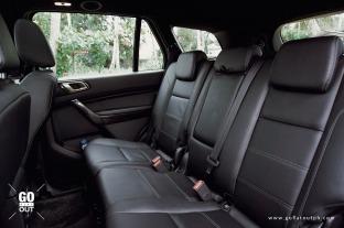 2020 Ford Everest Titanium 4x4 Bi-Turbo Rear Seats