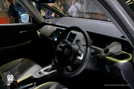 2020 Honda Fit Ness Interior