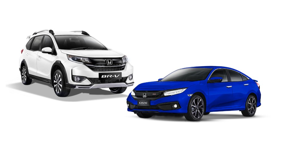 Honda PH Launches Limited Edition Variants Of The BR-V And Civic