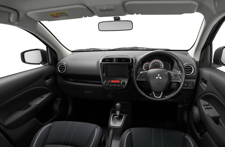 2020 Mitsubishi Mirage Interior