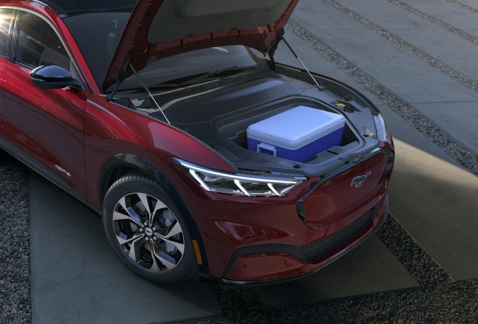2020 Ford Mustang Mach-E Frunk