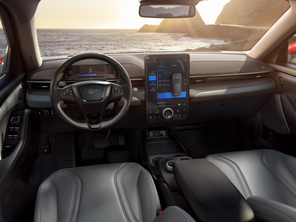 2020 Ford Mustang Mach-E Interior