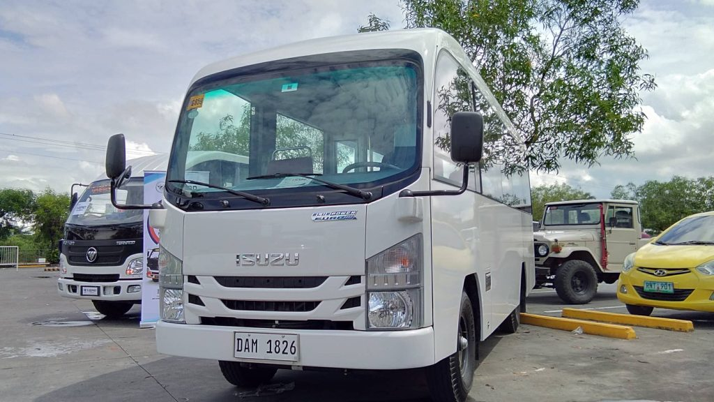 Isuzu Graces Bacolod With Its Class 2 Modern PUV