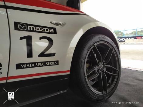 Mazda Miata Spec Series Race Car Exterior