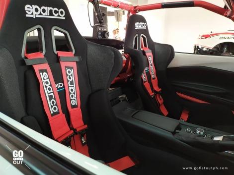 Mazda Miata Spec Series Race Car Interior