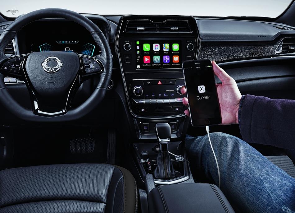 2020 SsangYong Tivoli Diesel Premium Interior