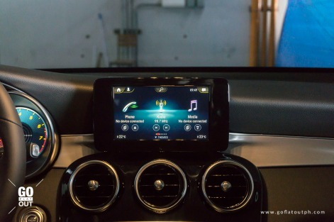 2020 Mercedes-Benz GLC 200 MBUX Infotainment System