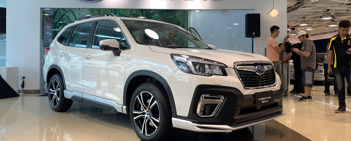 PH-Bound 2020 Subaru Forester GT Edition Unveiled In Singapore