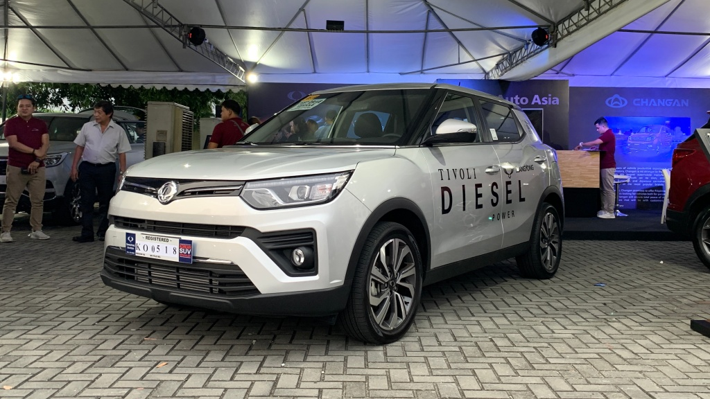 Refreshed SsangYong Tivoli Is All Diesel Power With A P1.180M Starting Price