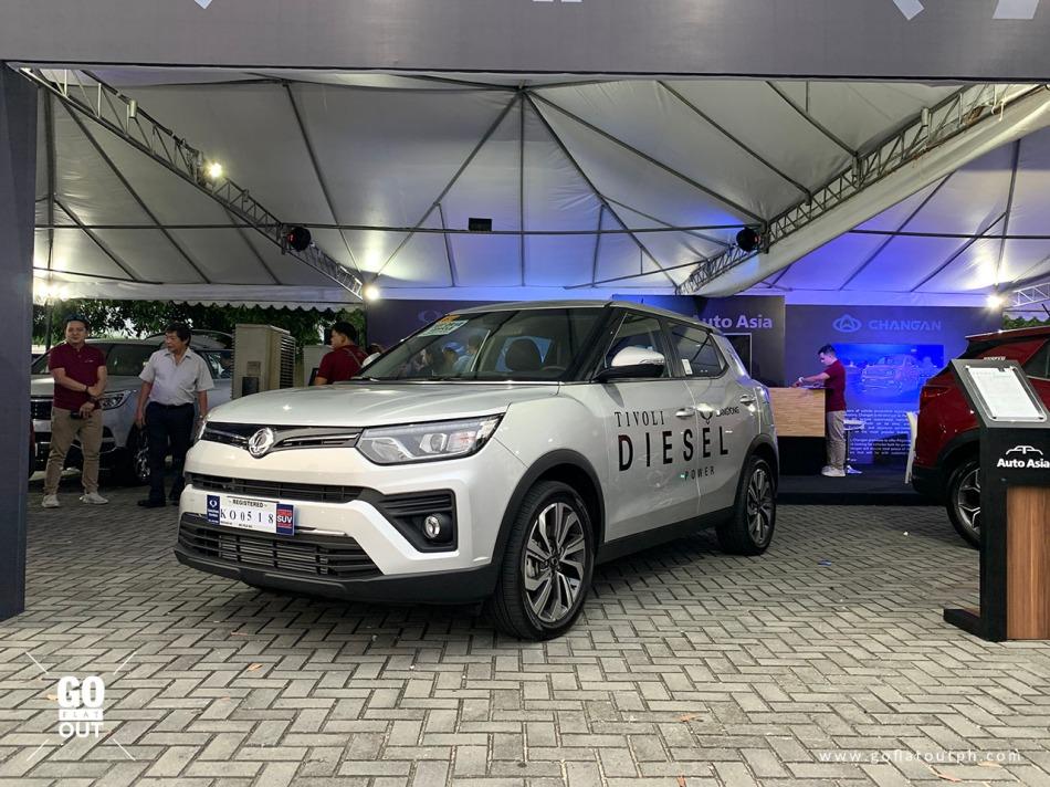 2020 SsangYong Tivoli Diesel Premium Exterior
