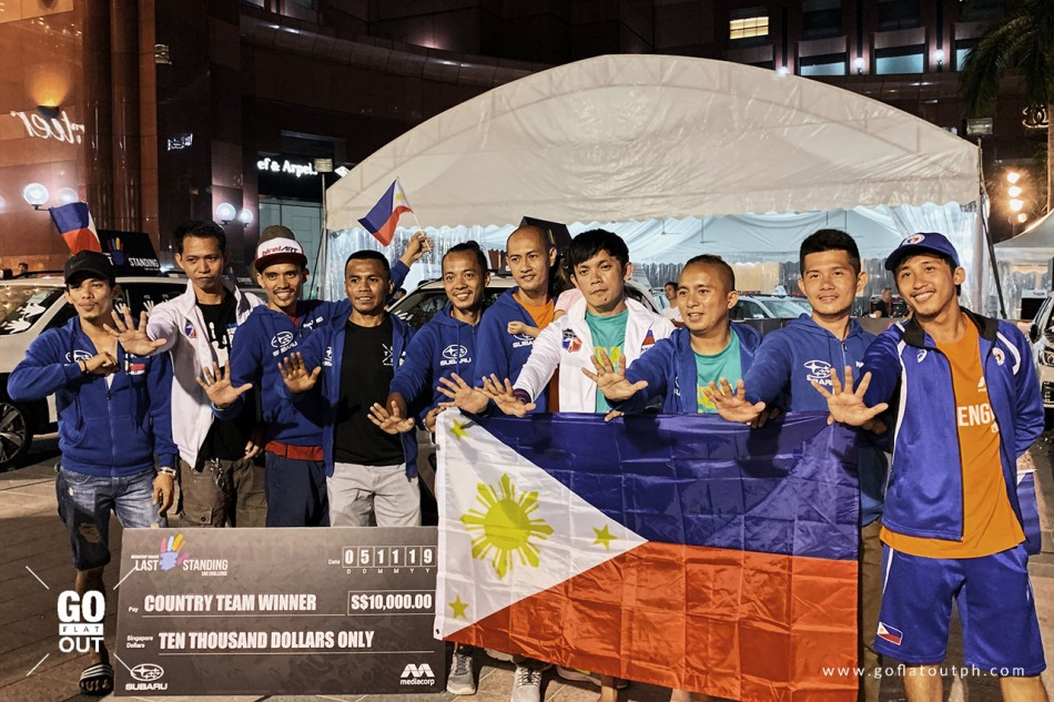 2019 Subaru Palm Challenge Philippines Country Team Winner