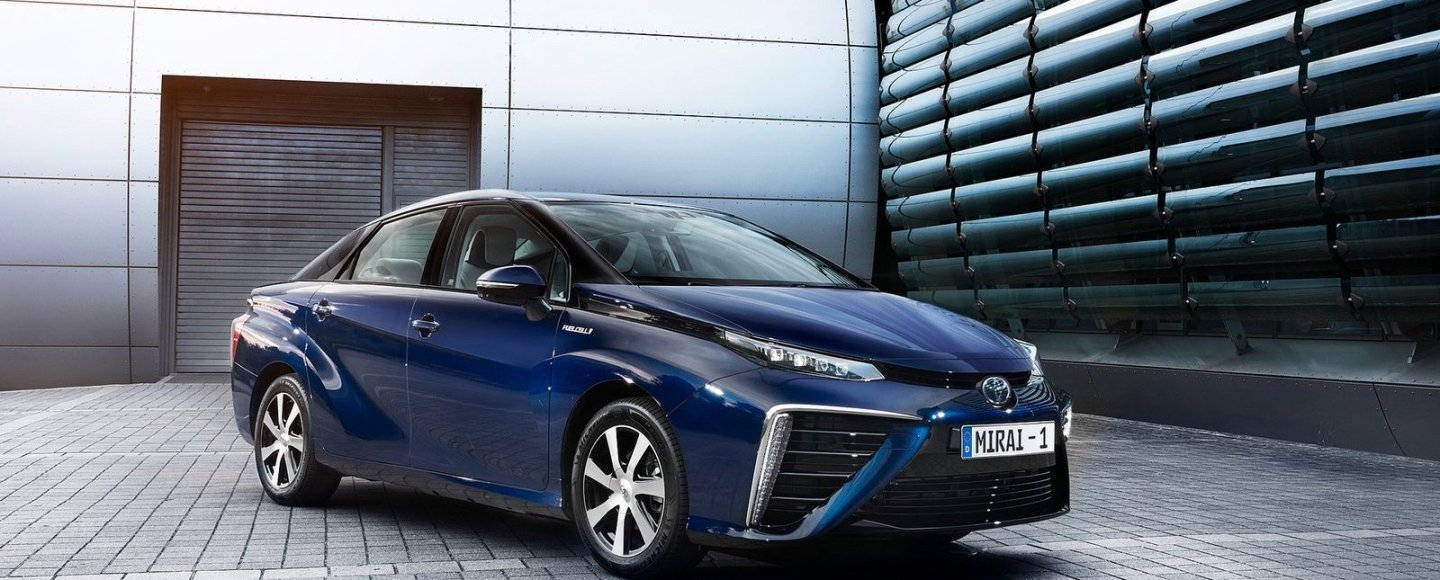 See The Toyota Mirai Hydrogen Fuel Cell Vehicle At Greenbelt 5 On November 22