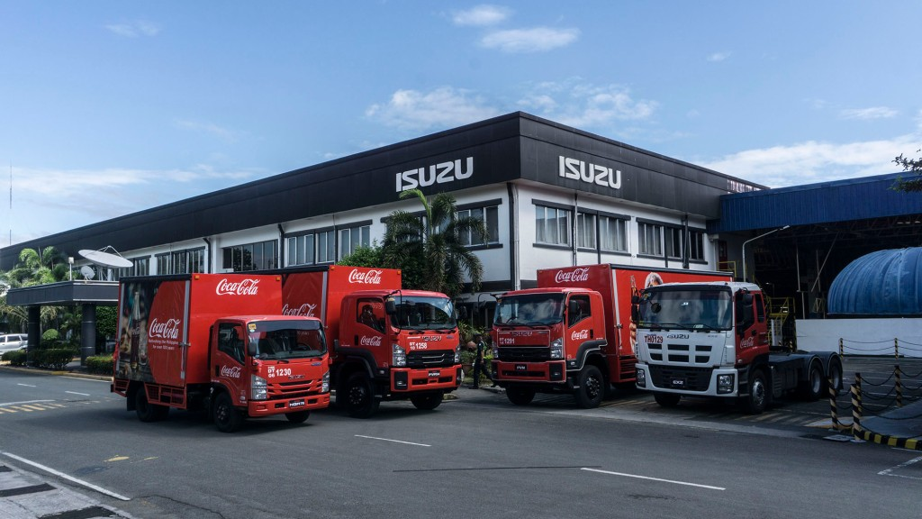 Isuzu PH Provides Powerful Yet Eco-Friendly Trucks To Coca-Cola