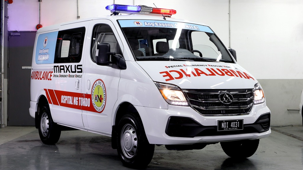 Ospital ng Tondo Receives The Maxus V80 To Help In Its Emergency Operations