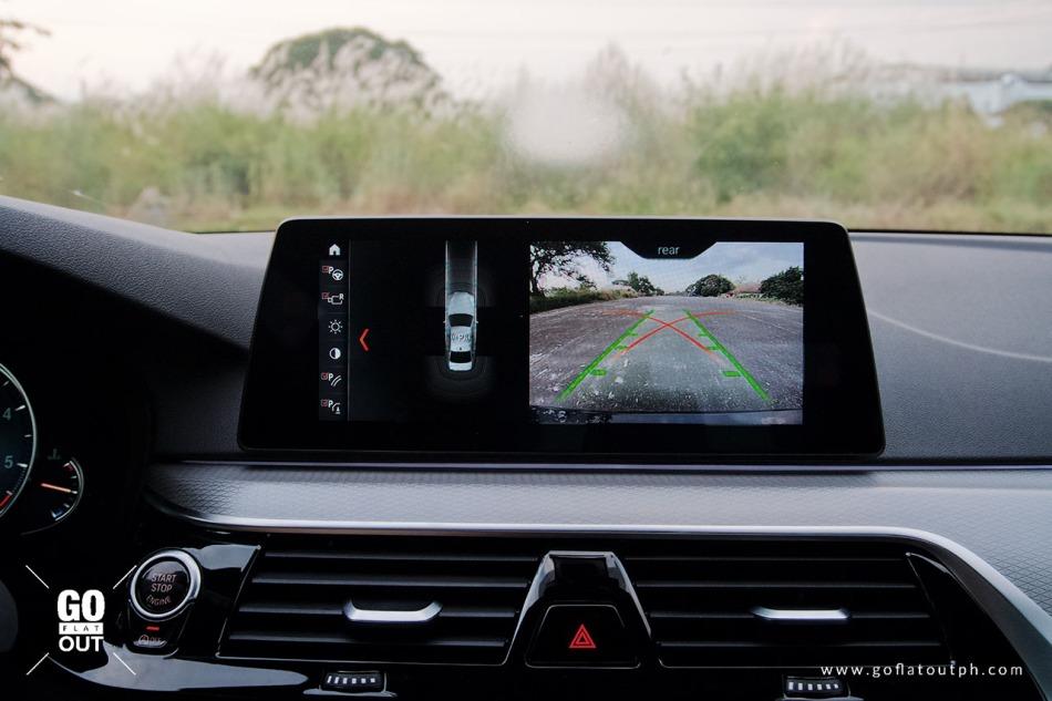 2020 BMW 520d M Sport Parking Assistant