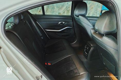 2020 BMW 330i M Sport Interior