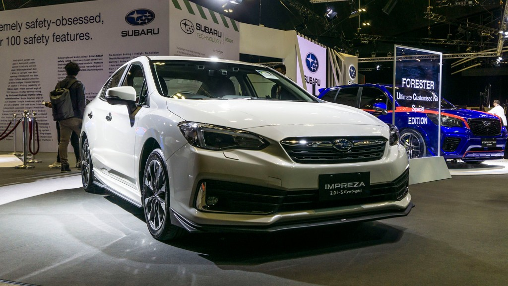 PH-Bound 2020 Subaru Impreza Makes Regional Debut In Singapore